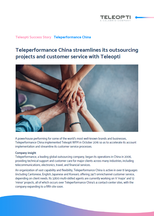 Teleperformance China