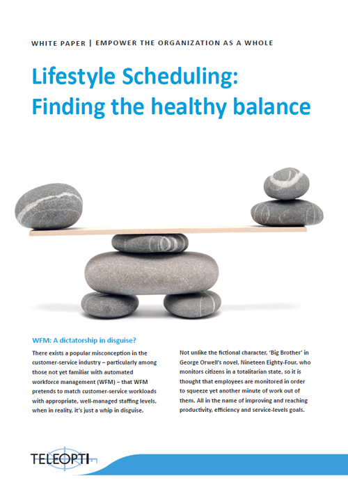 Lifestyle Scheduling: Finding the healthy balance