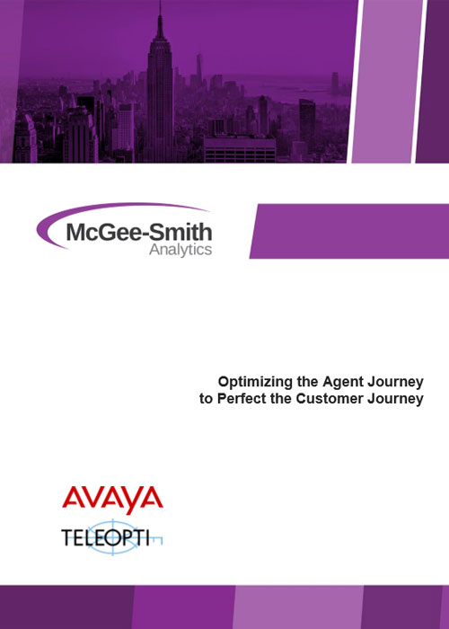 Optimizing the Agent Journey to Perfect the Customer Journey