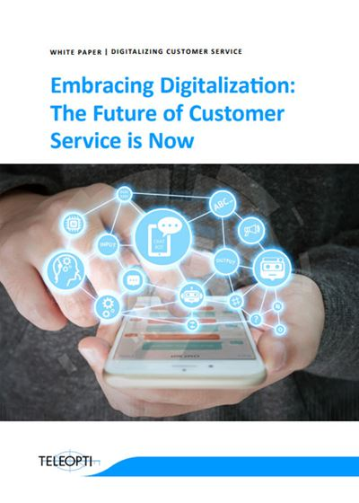 Embracing Digitalization: The Future of Customer Service is Now